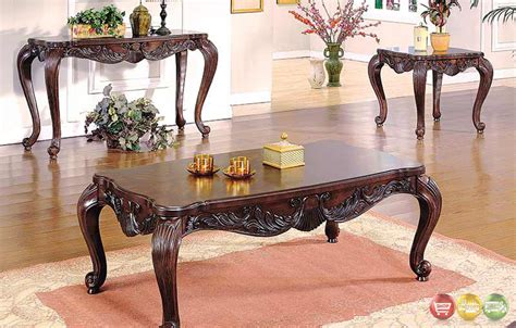 Traditional Table Ls For Living Room - traditional 3 living room table set