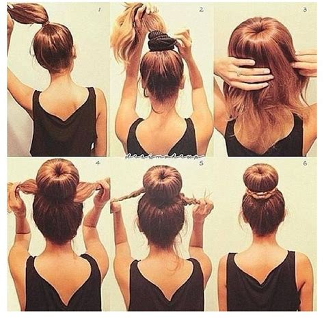 is putting hair in a bun a new fad quick easy cute bun without loads of bobby pins trusper