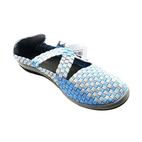 Sepatu Nike Rajut jual lulia vs26 rajut sepatu wanita blue harga