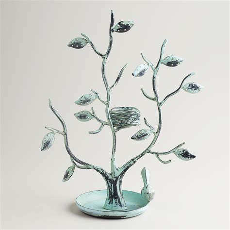 green tall tree and nest jewelry stand world market
