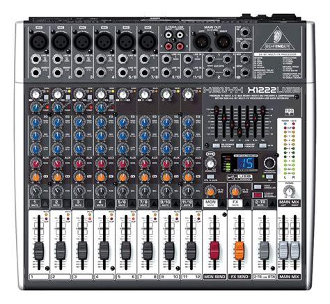 Mixer Xenyx X1222usb behringer xenyx x1222 usb mixer zzounds