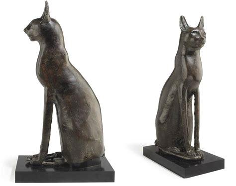 egyptian cat sculpture the met store a large egyptian bronze cat third intermediate period