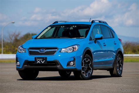 subaru crossover blue スバル xv 新型 2017