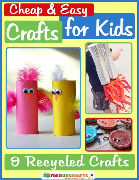 cheap and easy crafts for glitter bugs allfreekidscrafts