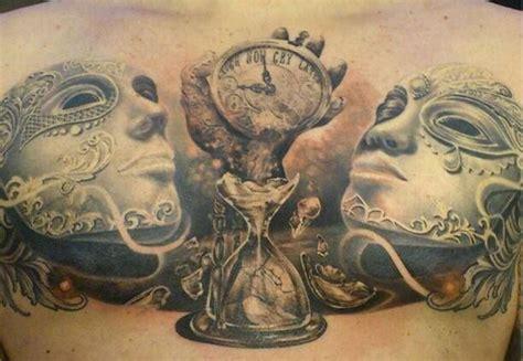 imagenes no realistas con su significado tatuajes de relojes de arena y su significado
