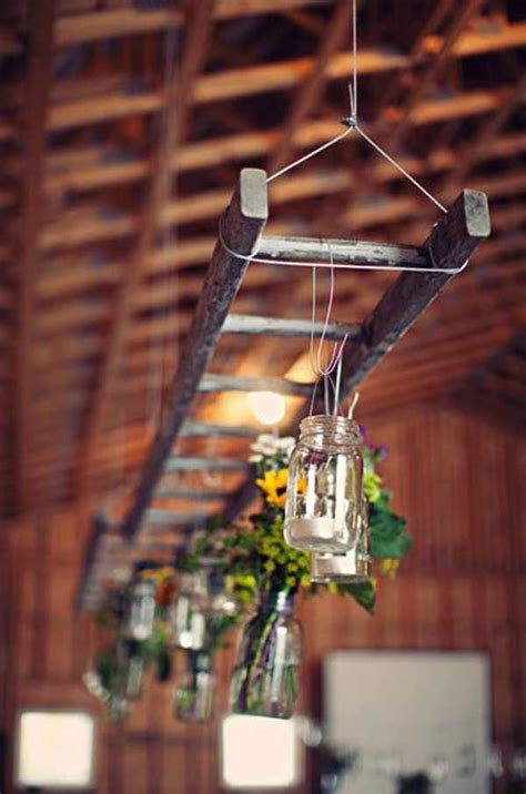 Hanging Light Decorations How To Decorate With Vintage Ladders 20 Ways To Inspire Tidbits Twine