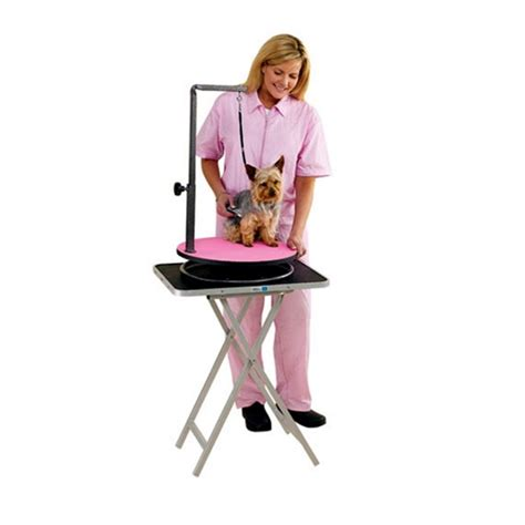 grooming tables for small dogs emperor grooming tables emperor lazy susan small