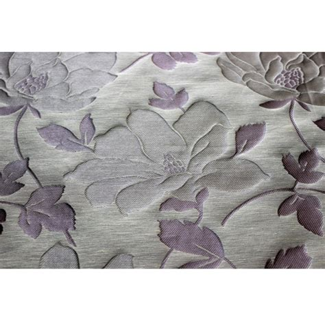 lavender upholstery fabric lavender n dark silver floral leaves curtain fabric upholstery