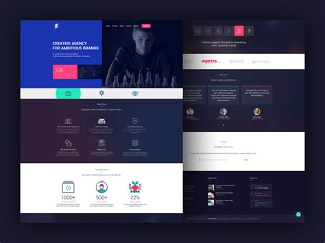 creative web creative website design freebie photoshop