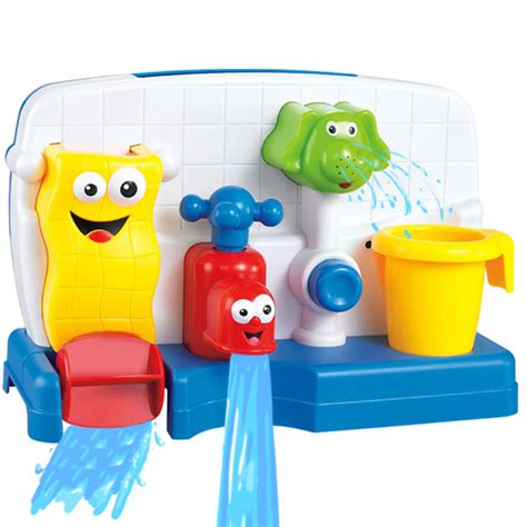 baby bathtub toys baby bath toys watertruck faucet spray shower spoon water
