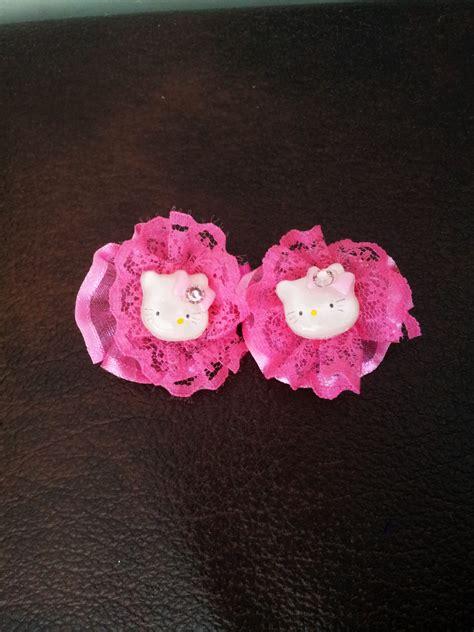 Spicegift Jepit Rambut Boneka Pink by Jepit Rambut Hello Murah Grosir Ecer Renda Pink