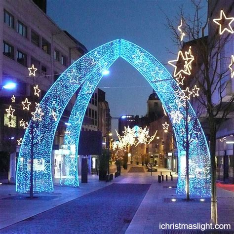 outdoor decor led lighted arch ichristmaslight