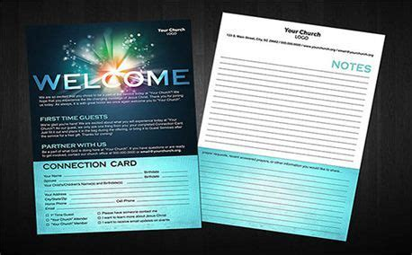 free church connection card template 1000 images about church branding ideas on