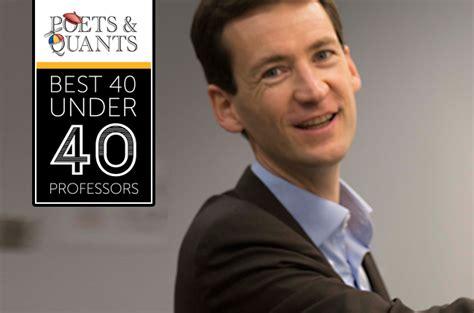 Http Poetsandquants 2017 03 26 40 Outstanding Mba Professors 40 by 2017 Best 40 40 Professors Fabrice Lumineau Purdue