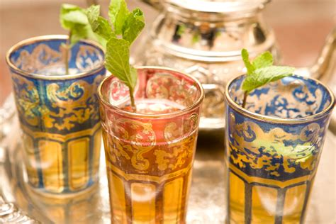 Drink Tea Like A Moroccan by 187 Moroccan Tea Cups