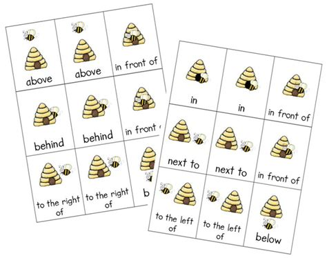 Preschool Positional Words Worksheets by 17 Best Ideas About Positional Words Kindergarten On