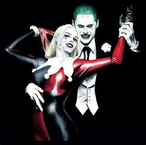 New Wig Harley Squad Justice League Joker harley quinn jared leto joker margot robbie squad image 4655823 by owlpurist on