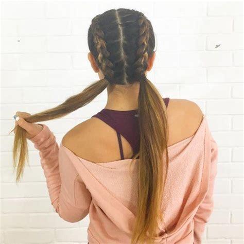 easy hairstyle for dances peinados informales y sencillos para usar en todo momento