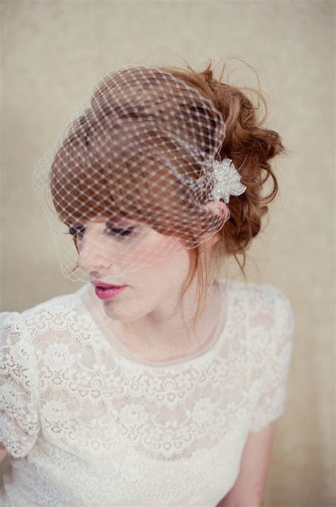 Wedding Updo Hairstyles Birdcage Veil by Fringe Wedding Hairstyles Hairstyles
