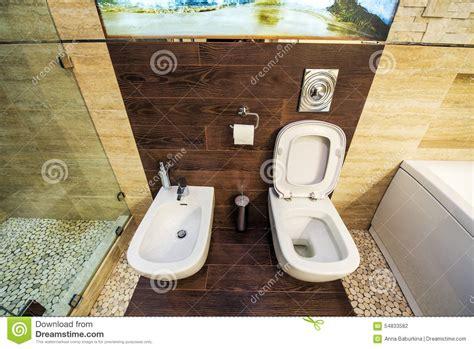 Bidet Z Wc by Toilet And Bidet Stock Photo Image 54833582