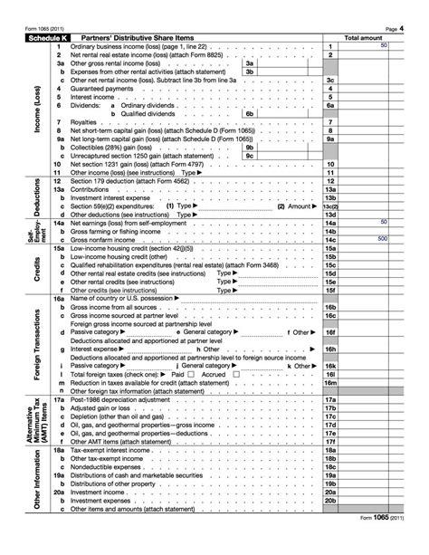 printable schedule k 1 2016 form irs 1065 schedule k 1 fill online printable