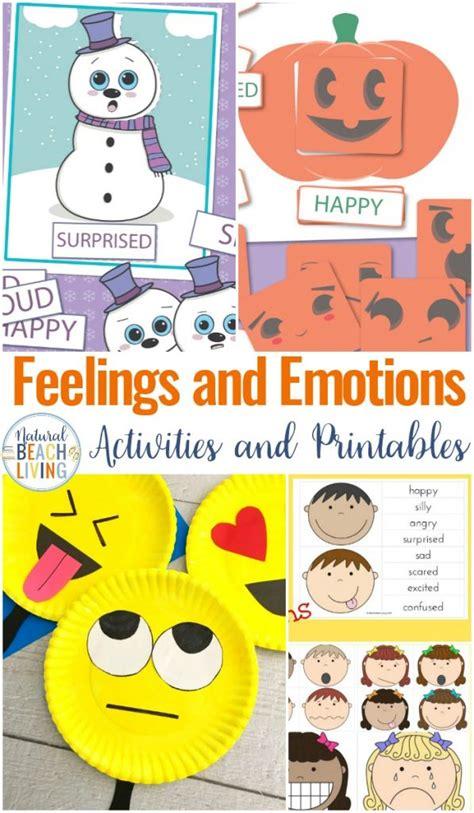 Preschool Emotions Printables