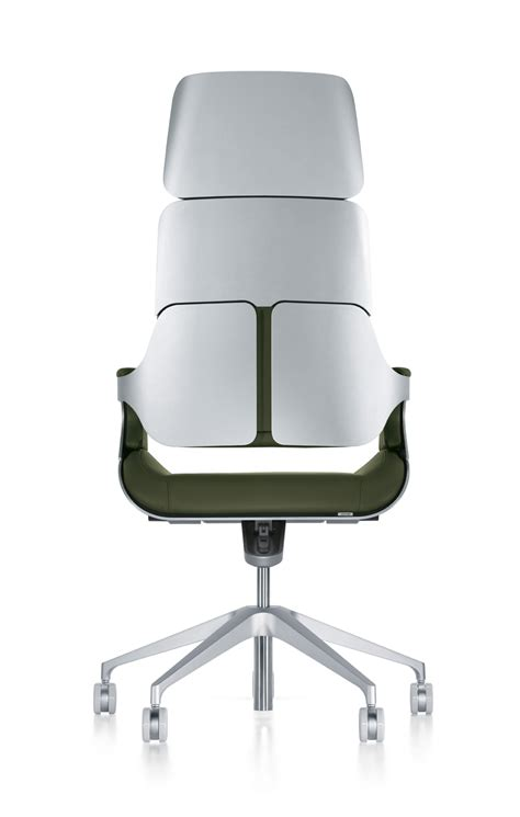 Silver Desk Chair by Silver By Interstuhl Executive Office Furniture