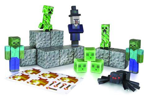 Minecraft Papercraft Hostile Mobs Set - previewsworld minecraft papercraft hostile mobs 45pc set