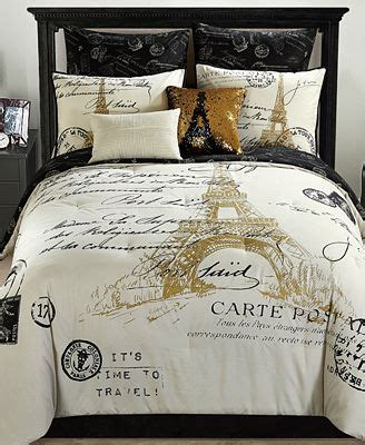 paris bed in a bag paris reversible 8 pc gold comforter sets bed in a bag