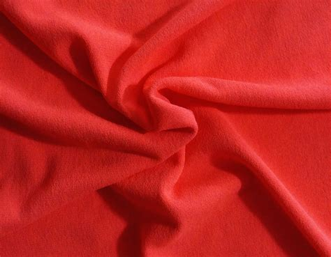 Material Soft Strech orange soft stretch crepe fabric by the yard