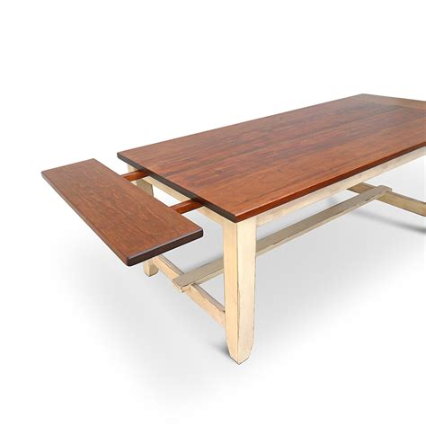 Napa Dining Table Napa W 10 Breadboardextensions Vintage Mill Werks Wooden Furniture Handcrafted In Usa
