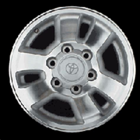 Toyota 4runner Bolt Pattern Toyota 4runner Factory Wheels At Andy S Auto Sport