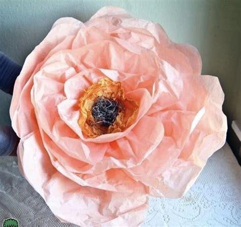 Handmade Tissue Paper Flowers - handmade tissue paper flowers roses diy tutorial