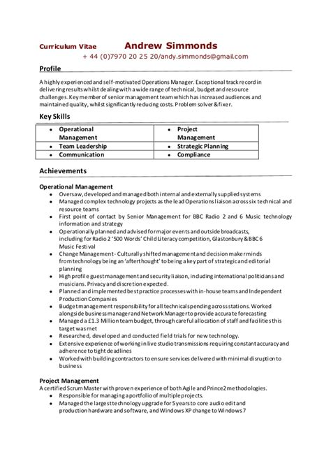 project based resumes for tech contractors skills based