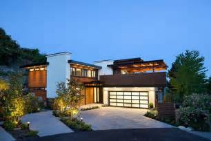 L Shaped House With Garage Contemporary Burkehill House Vancouver Canada By
