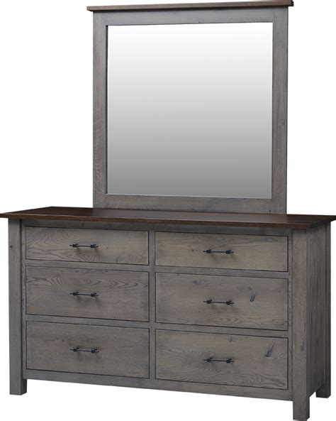 Heirloom Dresser by Heirloom Mission Collection Lancaster Legacy Truewood