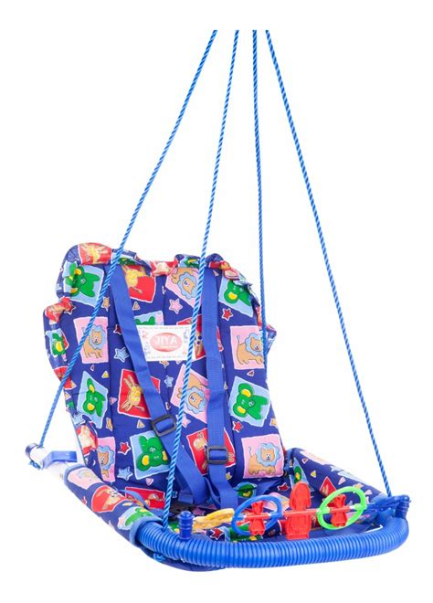 buy swings buy jiya baby swing cotton blue online in india