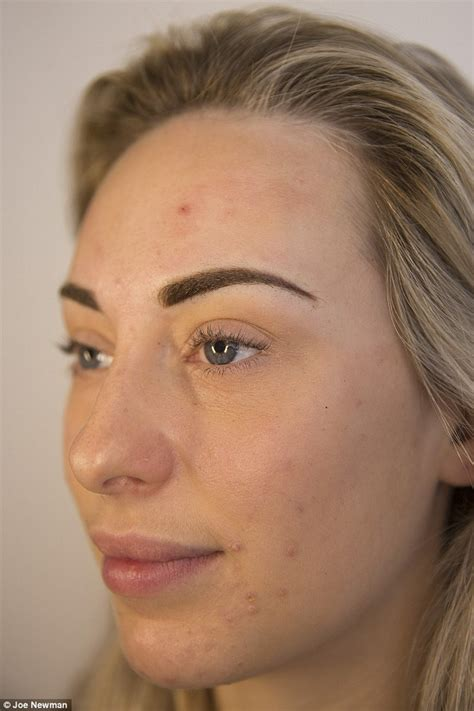 tattoo eyebrows daily mail are 163 445 ombre tattoo brows the secret to perfect eyebrows