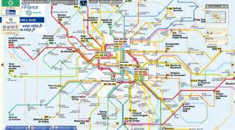 Ratp plan de metro paris interactif
