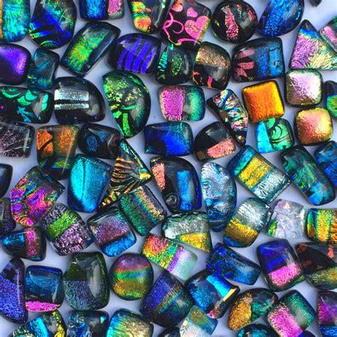 dichroic glass dichroic glass cabochons