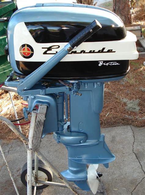 old boat motors values 1957 35 hp evinrude outboard antique boat motor for sale
