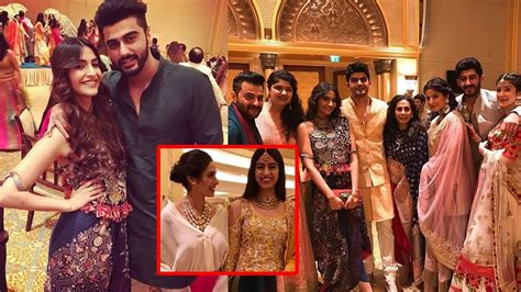 sridevi family sridevi with daughters sonam kapoor and family at a