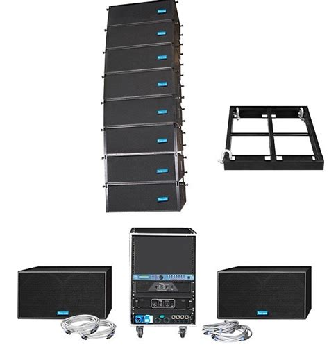 china line array speaker cabinet mido208 china pro