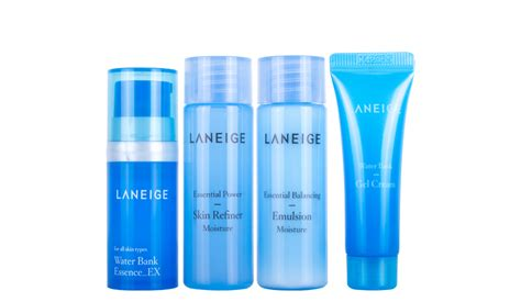 Laneige Trial Kit laneige moisture trial kit 4 items hermo