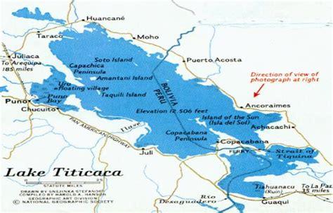 lake titicaca map lakenet lakes