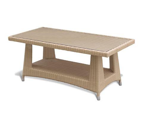 Outdoor Rattan Coffee Table Riviera Outdoor Rattan Coffee Table Wicker Garden Coffee Table