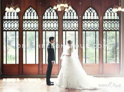 korean wedding photos indoor set sum studio