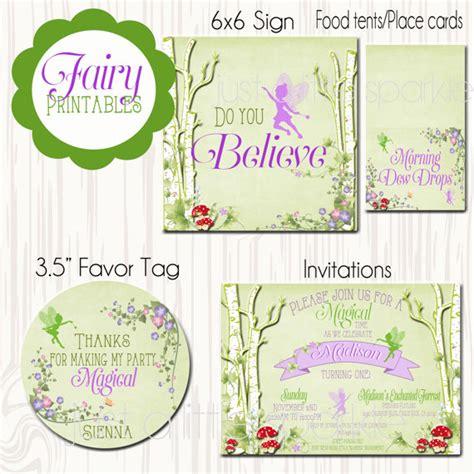 free printable birthday invitations woodland fairy invitation printables woodland fairy invite printable