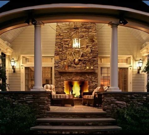 my dream home com awesome back porch with fireplace for my dream home