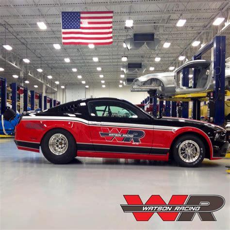 watson racing mustang stock or stock drag cars